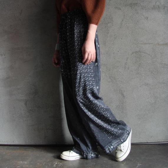 TOWAVASE Aquarelle silk pants