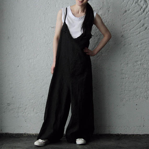 TOWAVASE Bon Voyage overalls (black)
