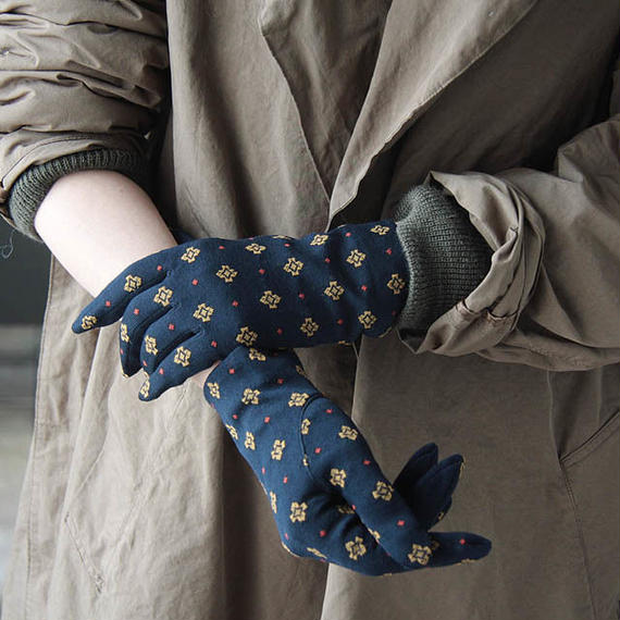 MARCOMONDE gloves navy