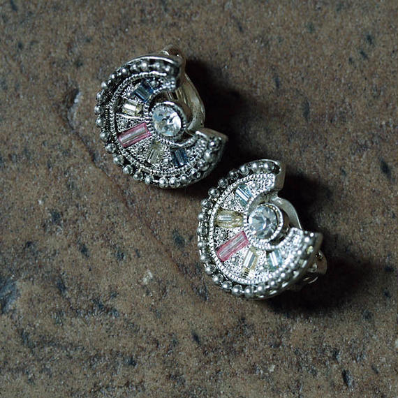 france dead stock earrings horseshoe