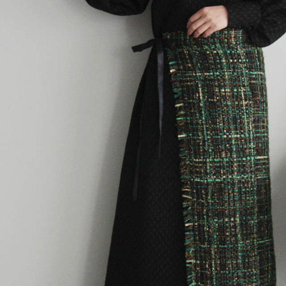 NOTA parterre tablier long  green
