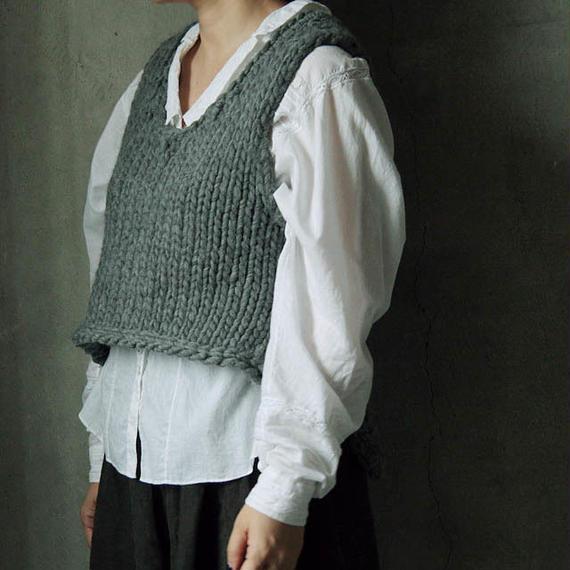 chiihao x nii-B peru vest gray