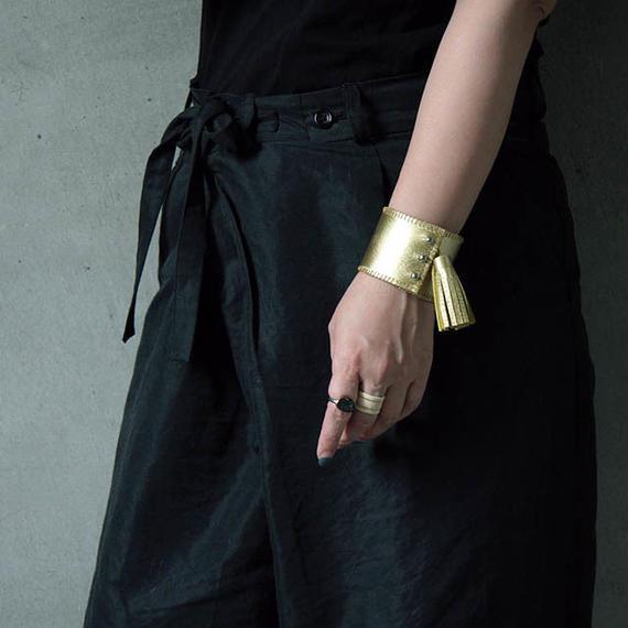 chiihao x nii-B tassel bangle gold