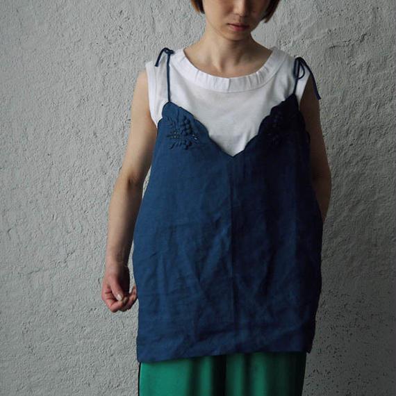 TOWAVASE Bon Voyage camisole (blue)
