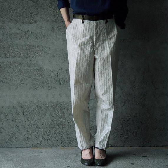 NATIVE VILLAGE notuck pants