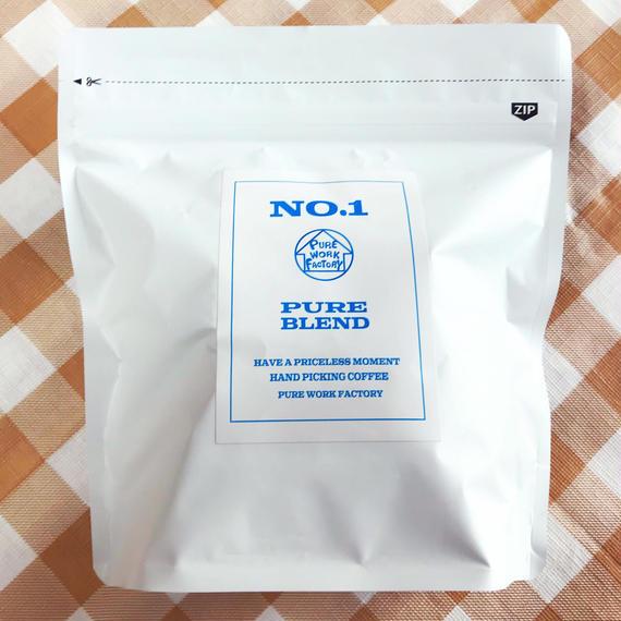 【NO1   PURE  BULEND】 オリジナル珈琲 200g  ※(粉・豆)選択有