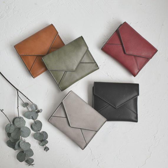 wallet-02060 シンプルレターデザイン ミニ財布 ミニウォレット