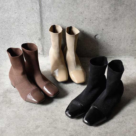 shoes-02023  リブソックスブーツ