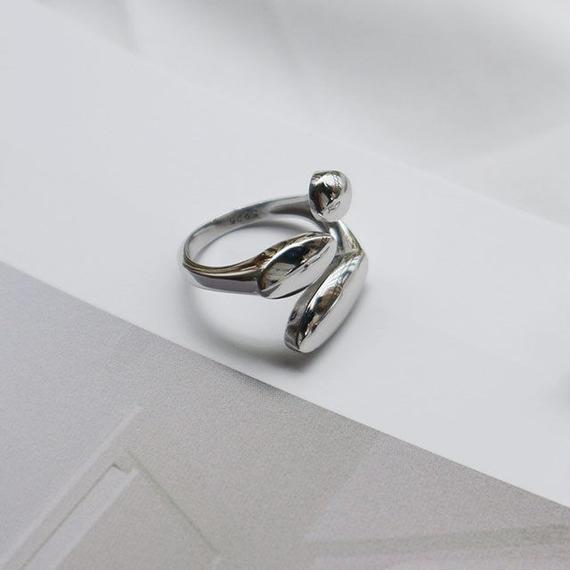 ring2-02039 送料無料! SV925 コンビネーションデザインリング シルバー925