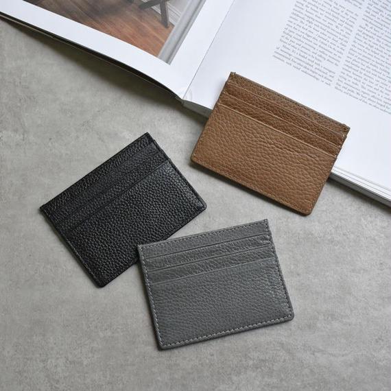 wallet-02070 送料無料! 本革レザー 7ポケットパスケース