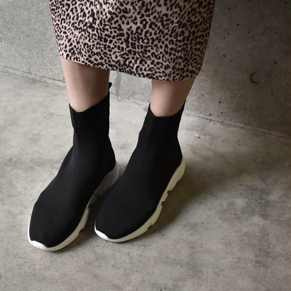 shoes-02035  ソックススニーカー ブラック