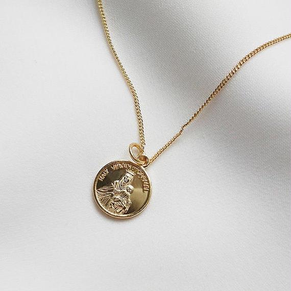 necklace2-02012 送料無料! SV925 タイプ4 コインチャームネックレス