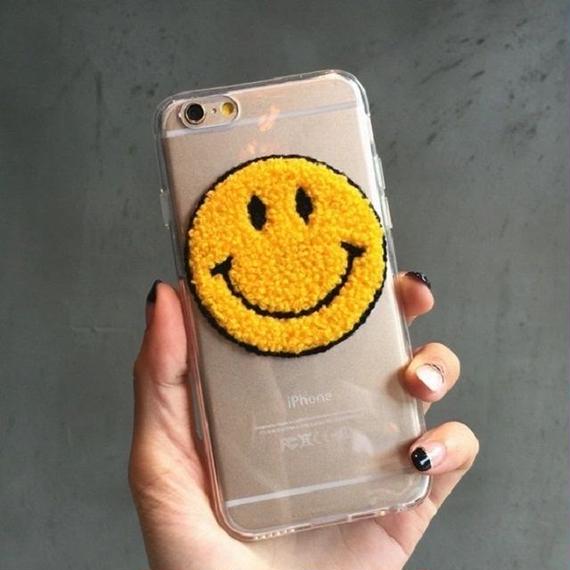 ot-02618 送料無料! ニコちゃん クリア  iPhoneケース