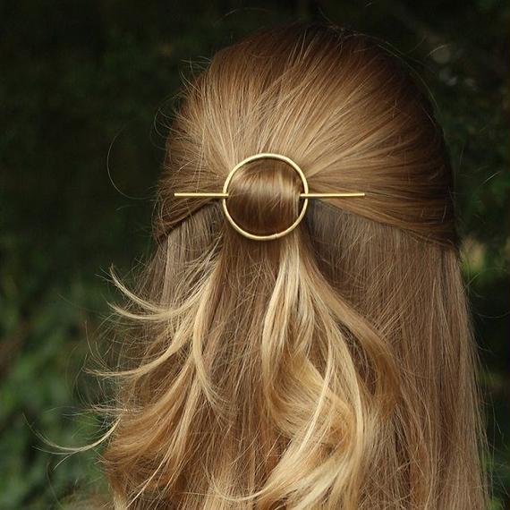 hair-02181 送料無料! シンプルリング マジェステ ハーフアップホルダー ヘアスティック