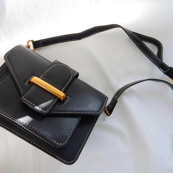 bag2-02298 タイプ2 ベルトデザイン 多重ポケットバッグ ショルダーバッグ
