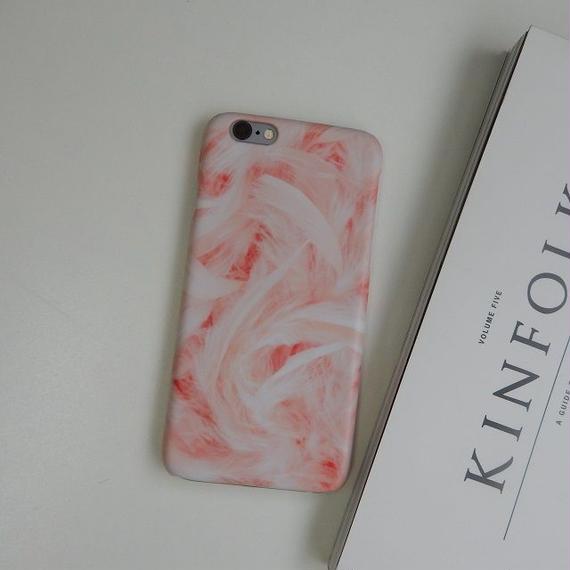iphone-02197 送料無料! ピンク マーブル柄 天然石 大理石柄 iPhoneケース