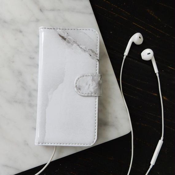 iphone-02166 送料無料! 手帳型 合皮 大理石柄 マーブル柄 天然石柄 ストーン柄 iPhone6ケース