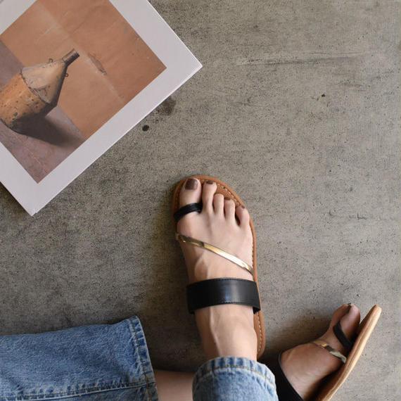 shoes-02019  ゴールドベルト トングサンダル
