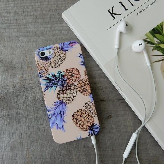 iphone-02158 送料無料! タイプ2 パイナップル iPhoneケース