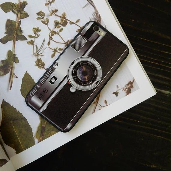 iphone-02028 送料無料! カメラモチーフ デジカメ iPhoneケース