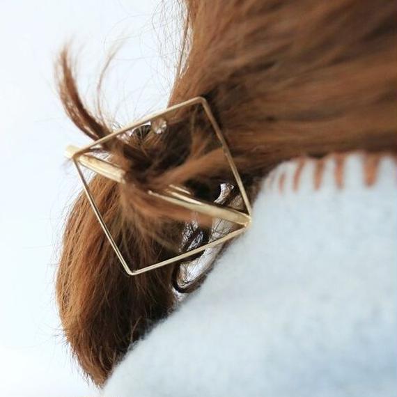 hair-02180 スクエアフレーム ヘアゴム ヘアポニー