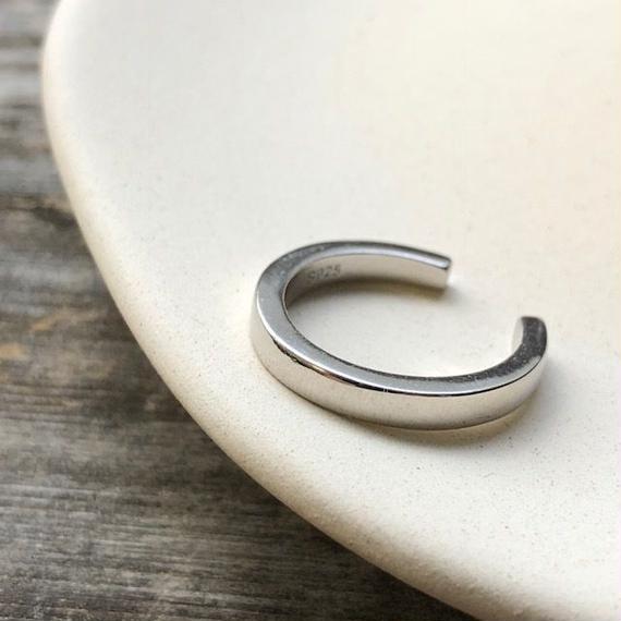 ring2-02043 送料無料! SV925 厚みリング シルバー925