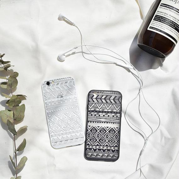 iphone-02439 送料無料! トライバル デザイン iPhoneケース