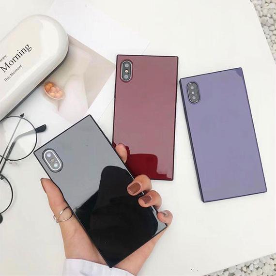 iphone-02471  送料無料!タイプ2 スクエアバンパー シンプル iPhoneケース