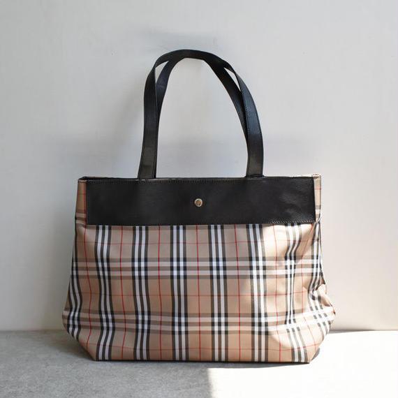 vintage-02003 BURBERRY ノバチェック ハンドバッグ