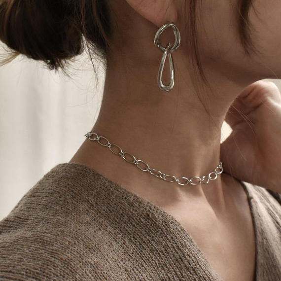 necklace2-02021 送料無料! SV925 シングルチェーン チョーカーネックレス シルバー925