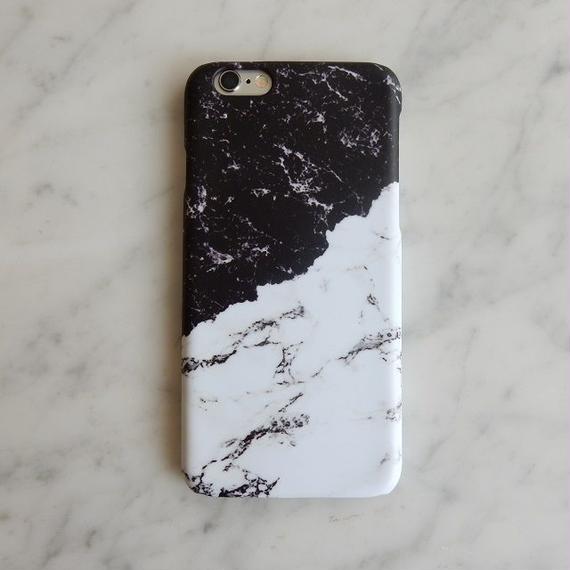 iphone-02191 送料無料! タイプ32 バイカラー 大理石 マーブル柄 天然石柄 ストーン柄 iPhoneケース