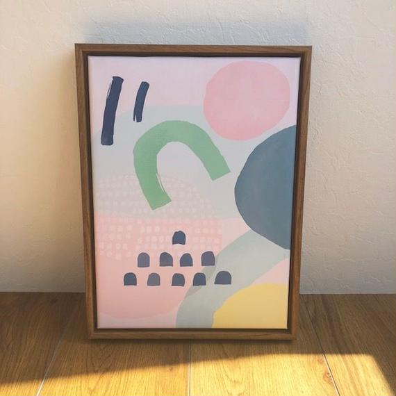 interior-02007 タイプD フレーム付きアートポスター