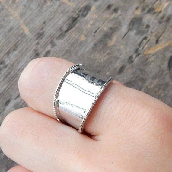 ring-02146 送料無料! タイプ3 シルバーヴィンテージ風リング 12号