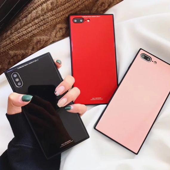 iphone-02426 送料無料! スクエアバンパー シンプル iPhoneケース