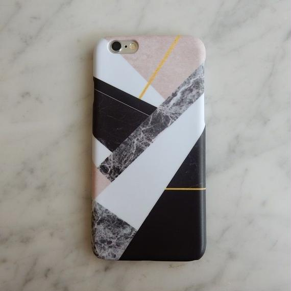 iphone-02194 送料無料! タイプ35 マルチミックス 大理石 マーブル柄 天然石柄 ストーン柄 iPhoneケース