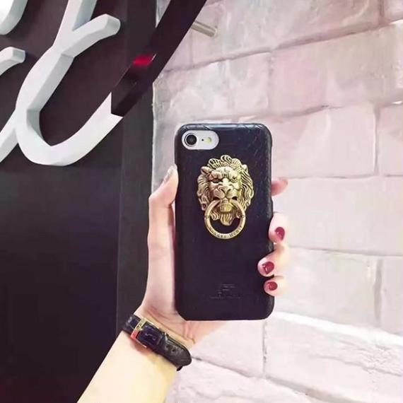 iphone-02325  送料無料! ライオンモチーフ iPhoneケース