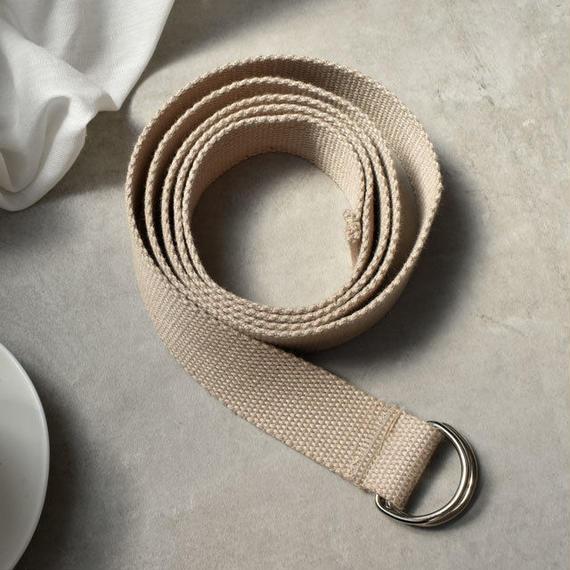 belt-02028 送料無料! ロングテープベルト ベージュ