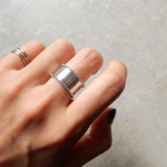 ring-02118 送料無料! タイプ2 シルバーヴィンテージ風リング 12号