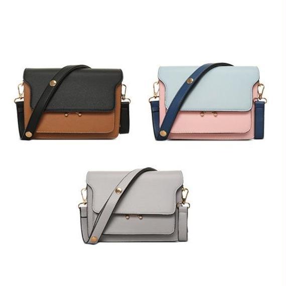 bag2-02198 多重ポケットバッグ ショルダーバッグ