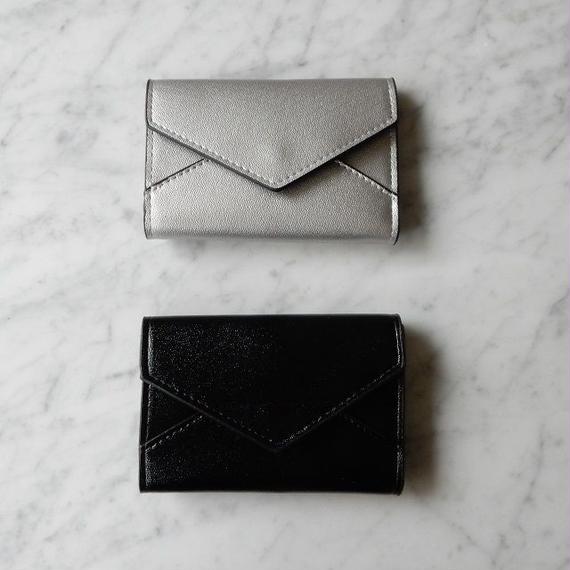 wallet-02015 レター型 財布 お札入れ カード入れ 小銭入れ無し 三つ折り
