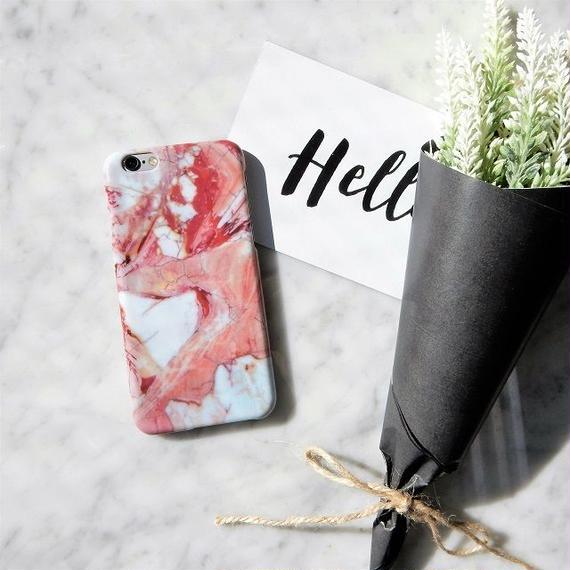 iphone-02256 送料無料! タイプ41 ピンク 大理石柄 マーブル柄 天然石柄 ストーン柄 iPhoneケース