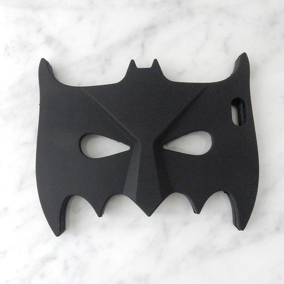iphone-02089 送料無料! バットマン マスク デザイン ブラック  iPhoneケース