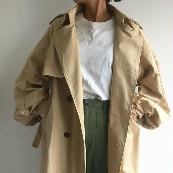 coat-02001 ボリュームスリーブ トレンチコート