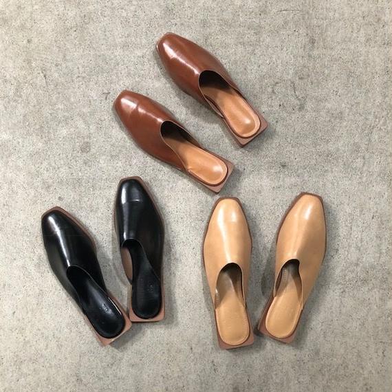shoes-02003  バブーシュサンダル ぺたんこ靴 フラットシューズ