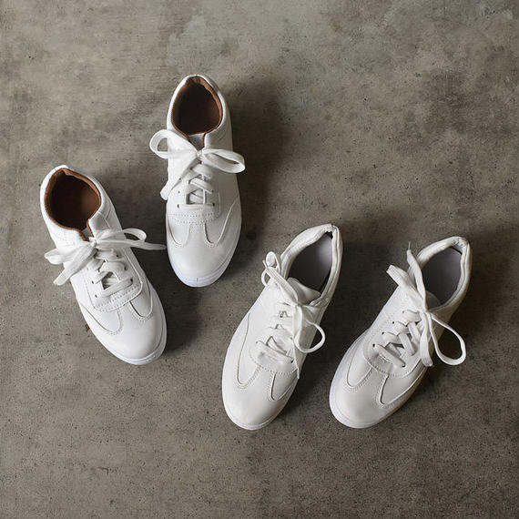 shoes-02041  エコレザー スニーカー