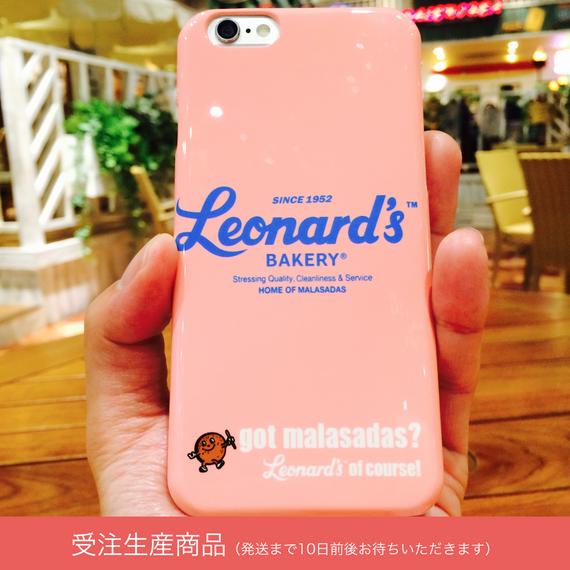 Leonard'sロゴ入りスマホケース(Galaxy / ARROWS / AQUOS)