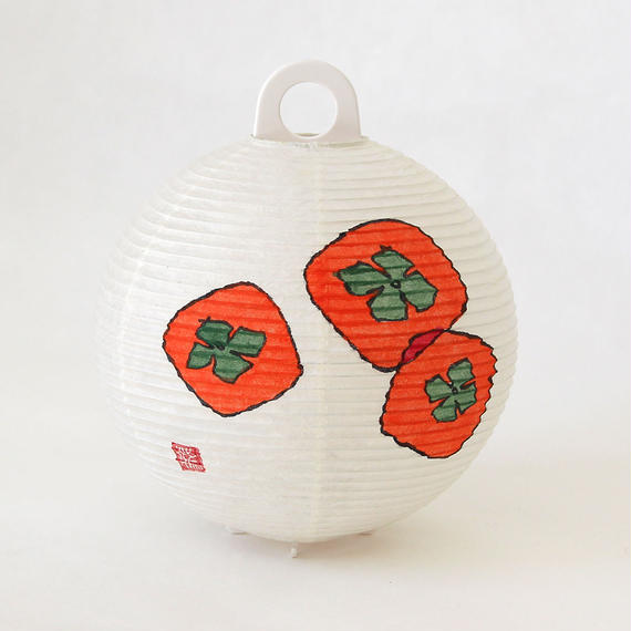 レター提灯 柿