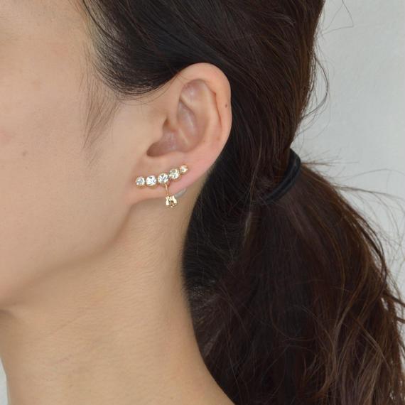 bijoux earring(5swarovski/crystal)