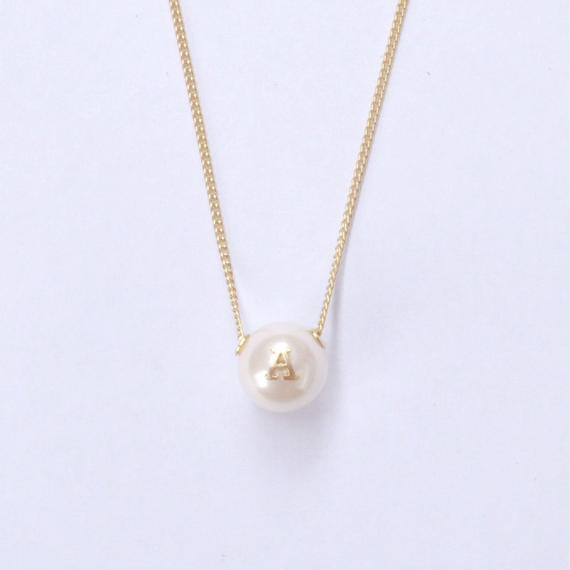 "Inicial necklace ""A"""