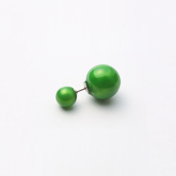 enamel pierce (green)